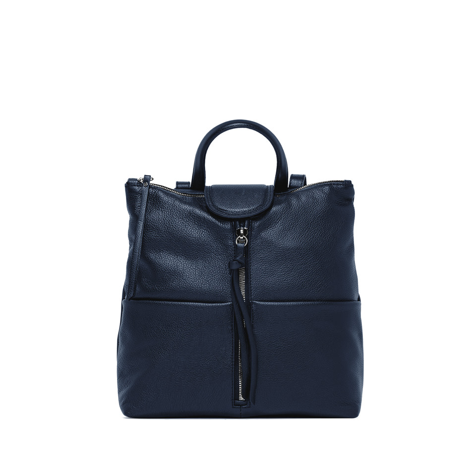 GIANNI CHIARINI: GIADA  MEDIUM  BLUE  BACKPACK