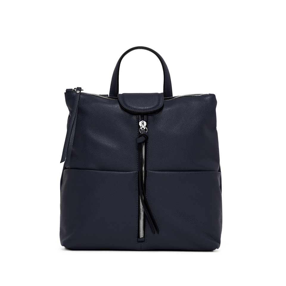 GIANNI CHIARINI: ZAINO GIADA MEDIUM BLU