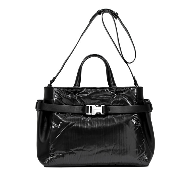 GIANNI CHIARINI STELLA  LARGE  BLACK  HANDBAG
