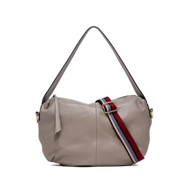 GIANNI CHIARINI GIORGIA  MEDIUM  BEIGE  SHOULDER  BAG