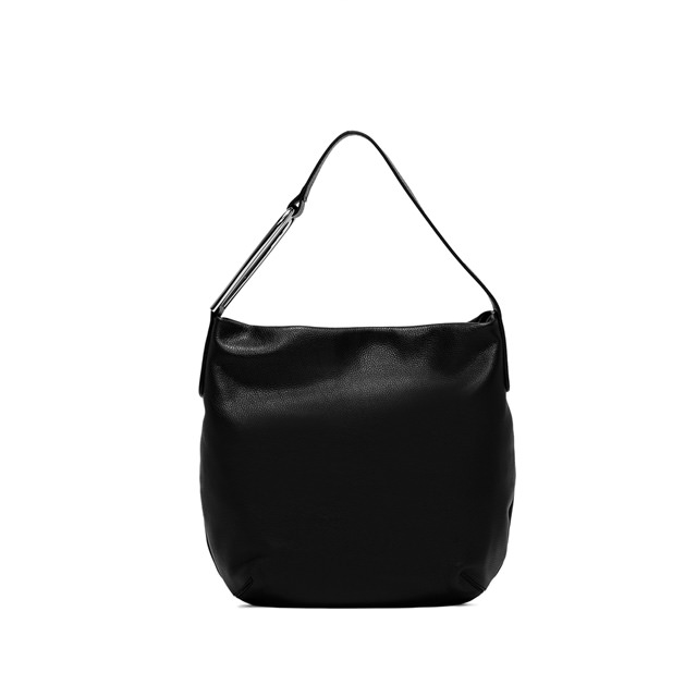 GIANNI CHIARINI NEW  ADA  MEDIUM  BLACK  SHOULDER  BAG