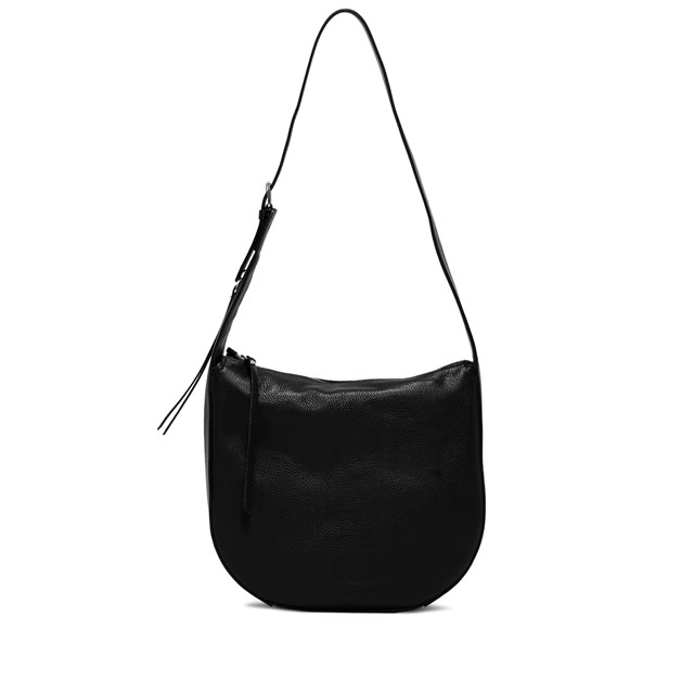 GIANNI CHIARINI PETRA  MEDIUM  BLACK  SHOULDER  BAG