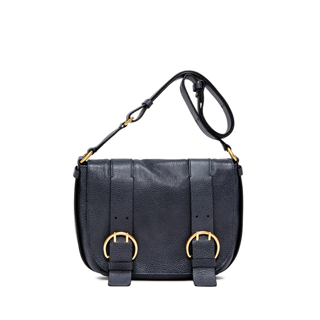 GIANNI CHIARINI: HARLEY  MEDIUM  BLUE  CROSSBODY  BAG