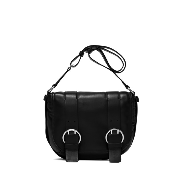 GIANNI CHIARINI HARLEY  MEDIUM  BLACK  CROSS  BODY  BAG