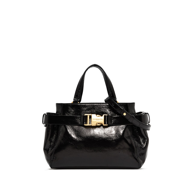 GIANNI CHIARINI SMALL SIZE HAND BAG COLOR BLACK