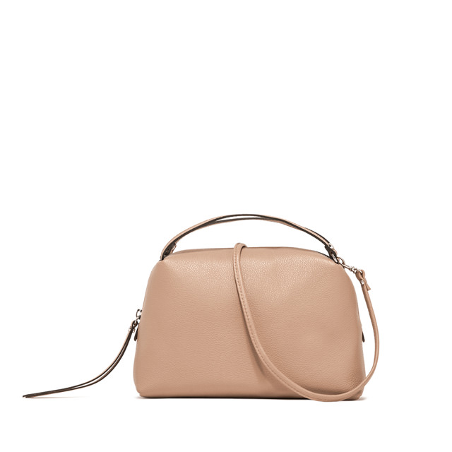GIANNI CHIARINI: MEDIUM SIZE ALIFA HAND BAG COLOR POWDER