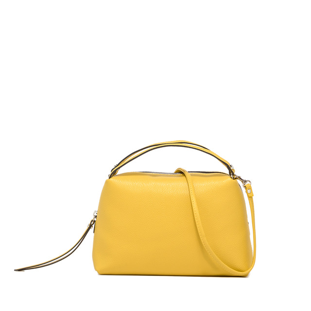 GIANNI CHIARINI: MEDIUM SIZE ALIFA HAND BAG COLOR YELLOW