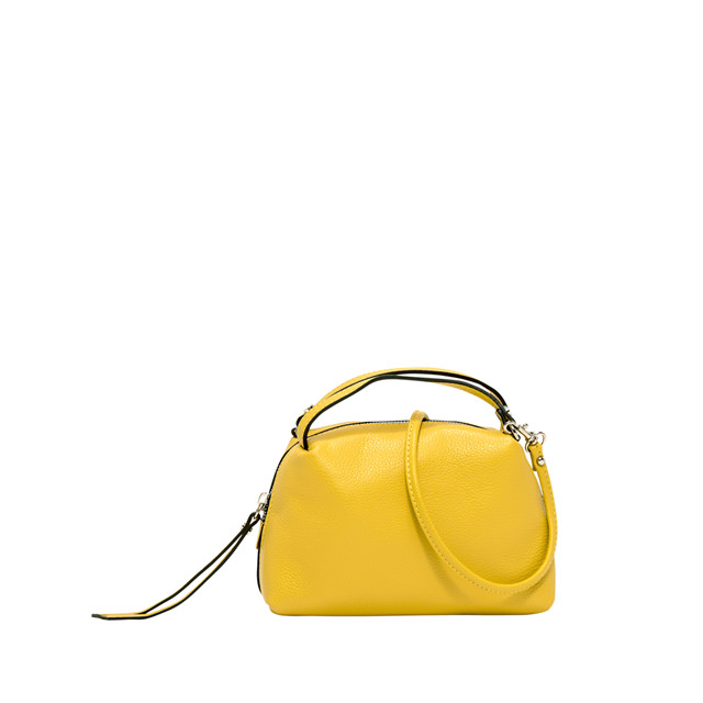 GIANNI CHIARINI: SMALL SIZE ALIFA HAND BAG COLOR YELLOW