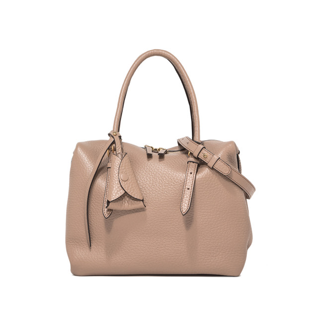 GIANNI CHIARINI MEDIUM SIZE BELLA HAND BAG COLOR BEIGE