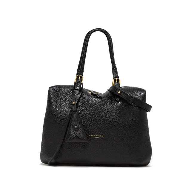 GIANNI CHIARINI: MEDIUM SIZE BELLA HAND BAG COLOR BLACK