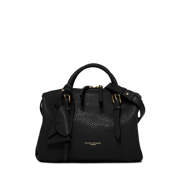 GIANNI CHIARINI: SMALL SIZE BELLA HAND BAG COLOR BLACK