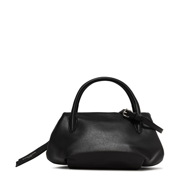 GIANNI CHIARINI LARGE SIZE COLETTE HAND BAG COLOR BLACK