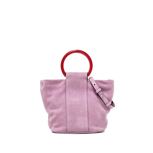 GIANNI CHIARINI: COLORELLA SMALL PINK HANDBAG