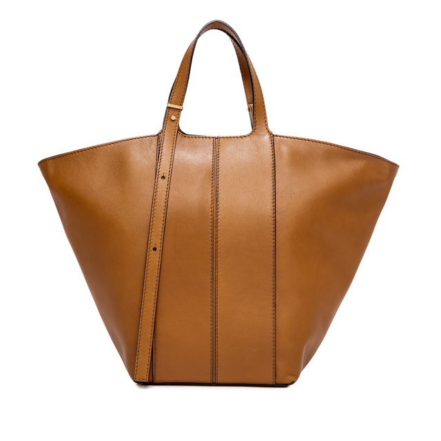 GIANNI CHIARINI: MEDIUM SIZE DILETTA HAND BAG COLOR BROWN
