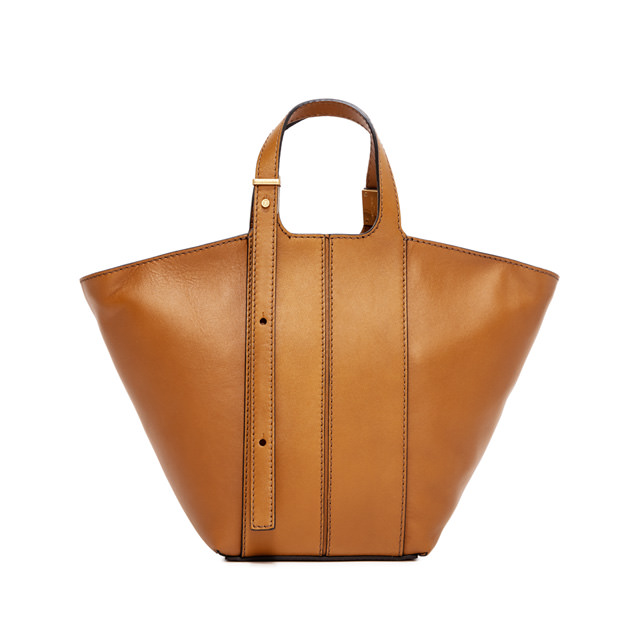 GIANNI CHIARINI BORSA A MANO DILETTA SMALL MARRONE
