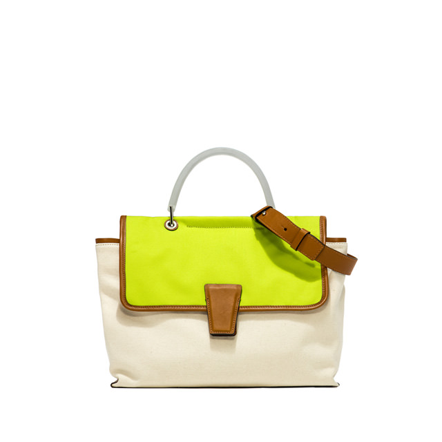 GIANNI CHIARINI: MEDIUM SIZE ELETTRA HAND BAG COLOR GRERU