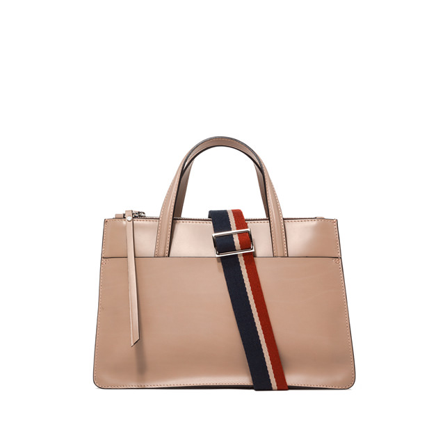 GIANNI CHIARINI BORSA A MANO EMPIRE MEDIA BEIGE