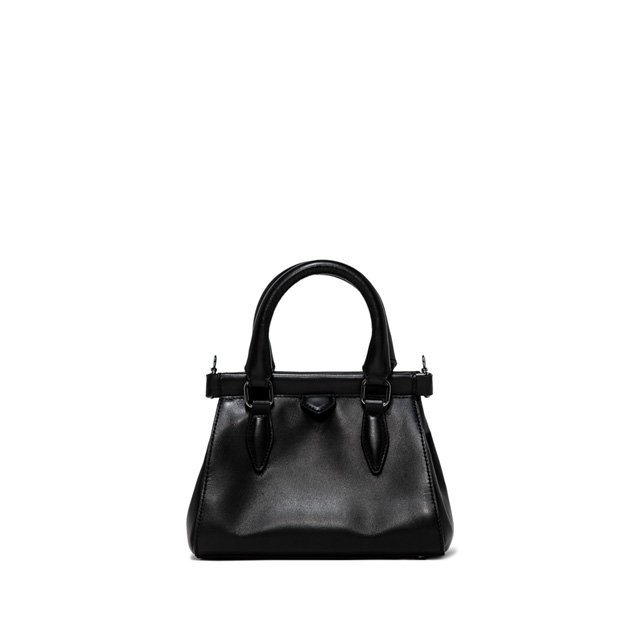 GIANNI CHIARINI ISOTTA SMALL BLACK HANDBAG