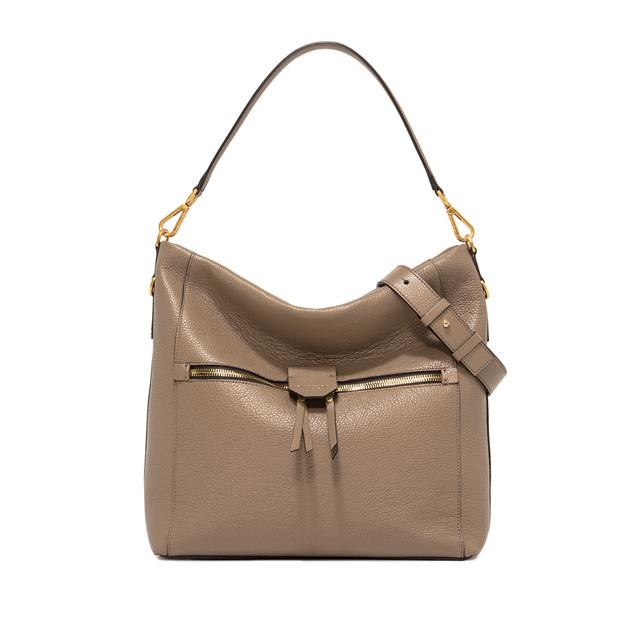 GIANNI CHIARINI MEDIUM SIZE MARICA SHOULDER BAG COLOR BEIGE
