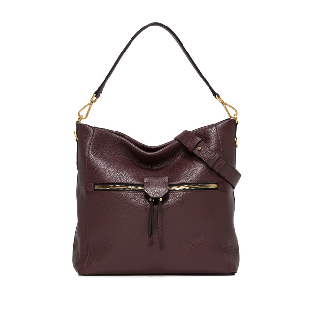 GIANNI CHIARINI: MEDIUM SIZE MARICA SHOULDER BAG COLOR BROWN
