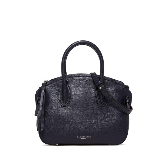 GIANNI CHIARINI MEDIUM SIZE NUTTY HAND BAG COLOR BLUE