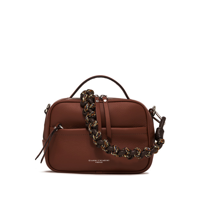 GIANNI CHIARINI LARGE SIZE RALLY HAND BAG COLOR BROWN