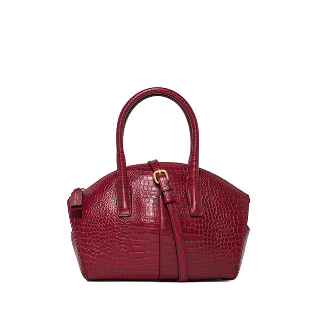 GIANNI CHIARINI MEDIUM SIZE SHELL HAND BAG COLOR RED