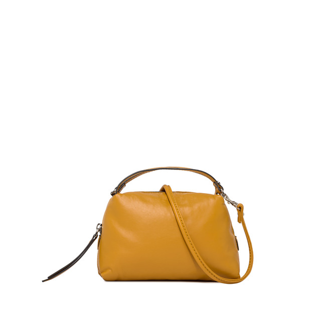 GIANNI CHIARINI SMALL ALIFA HAND BAG COLOR YELLOW