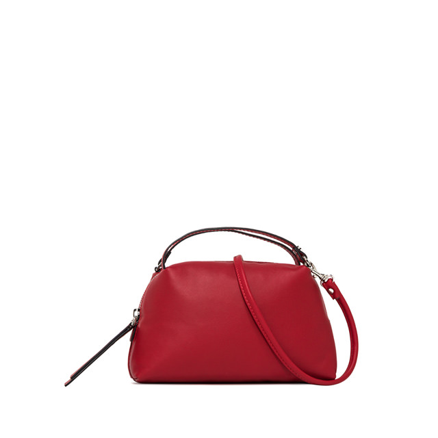 GIANNI CHIARINI: SMALL ALIFA HAND BAG COLOR RED