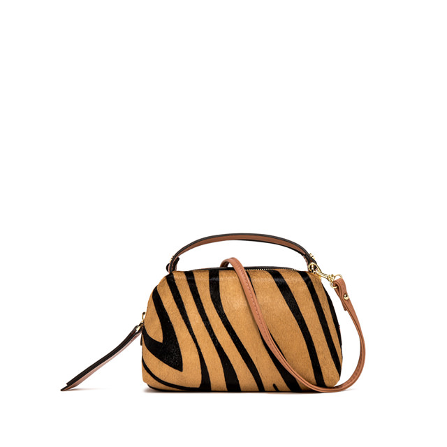 GIANNI CHIARINI SMALL ALIFA CROSSBODY BAG ANIMALIER