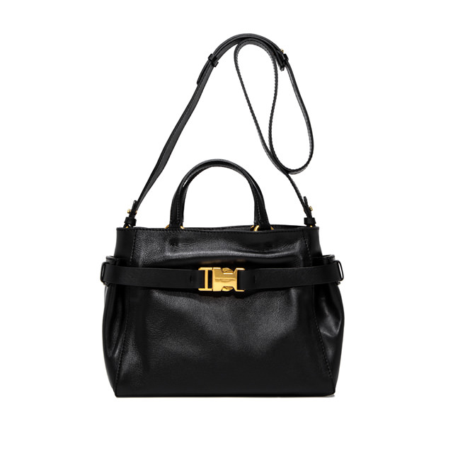 GIANNI CHIARINI MEDIUM SIZE STELLA HAND BAG COLOR BLACK