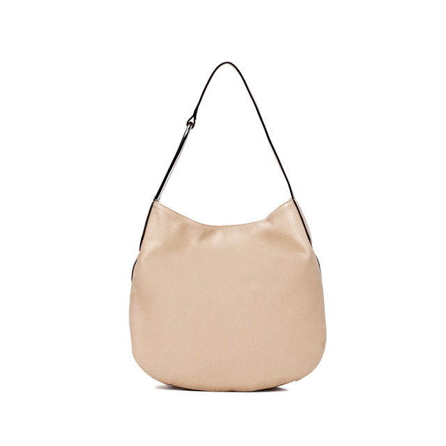 GIANNI CHIARINI ADA MEDIUM NUDE SHOULDER BAG