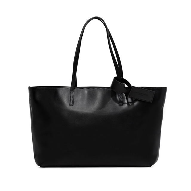 GIANNI CHIARINI ALESSANDRA LARGE BLACK SHOULDER BAG