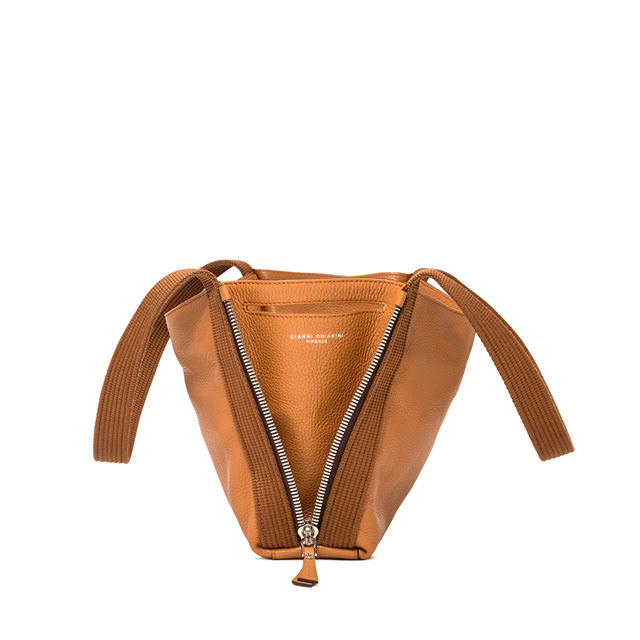 GIANNI CHIARINI SMALL SIZE ASIA SHOULDER BAG COLOR ORANGE