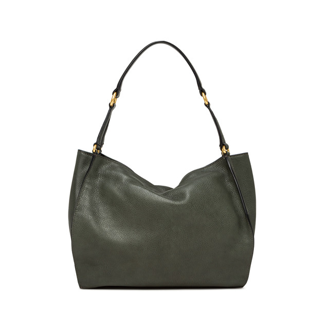 GIANNI CHIARINI MEDIUM SIZE DAFNE SHOULDER BAG COLOR GREEN