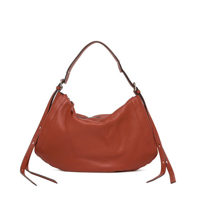 GIANNI CHIARINI LARGE SIZE DARLEEN SHOULDER BAG COLOR RED