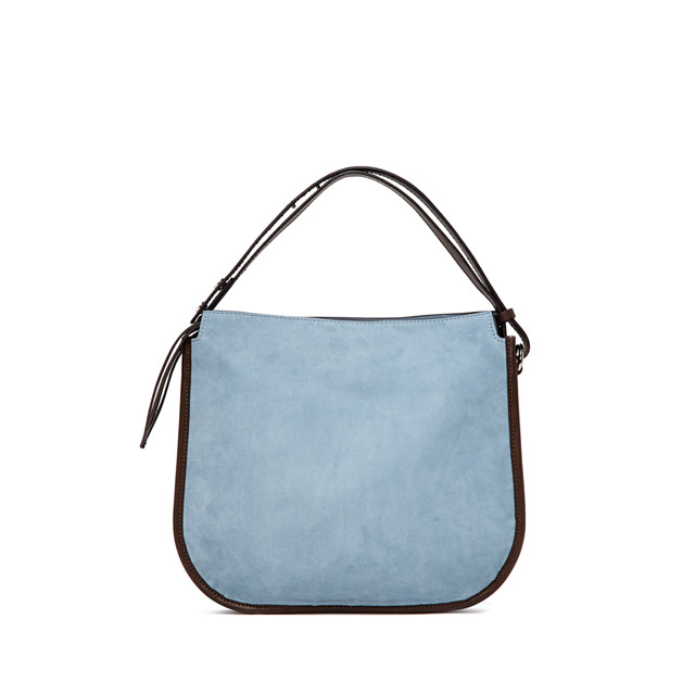 GIANNI CHIARINI ELLA MEDIUM LIGHT BLUE CROSS BODY BAG