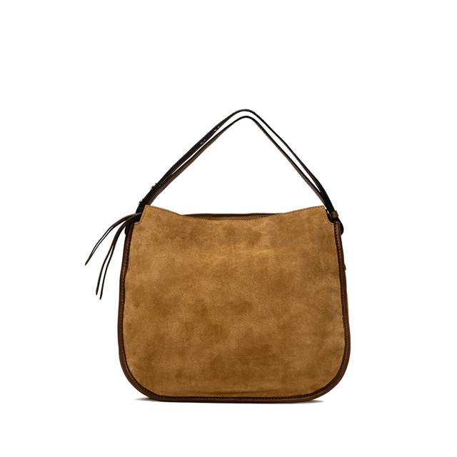 GIANNI CHIARINI ELLA MEDIUM BROWN CROSS BODY BAG