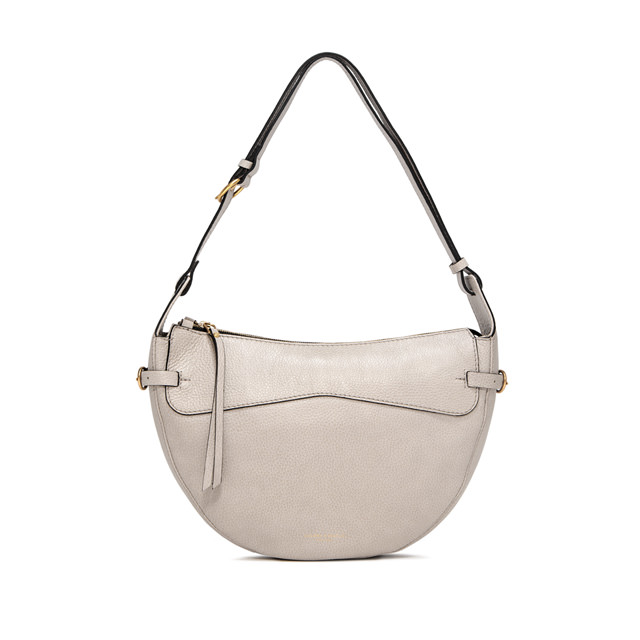GIANNI CHIARINI: SMALL SIZE GINEVRA SHOULDER BAG COLOR BEIGE