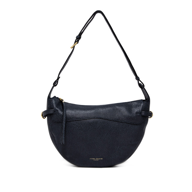 GIANNI CHIARINI: SMALL SIZE GINEVRA SHOULDER BAG COLOR BLU