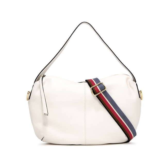 GIANNI CHIARINI MEDIUM SIZE GIORGIA SHOULDER BAG COLOR WHITE