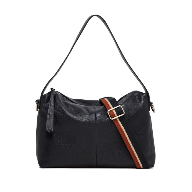 GIANNI CHIARINI MEDIUM SIZE GIORGIA SHOULDER BAG COLOR BLACK