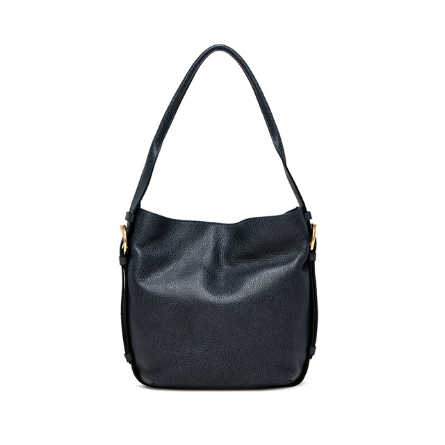GIANNI CHIARINI: HARLEY MEDIUM BLUE SHOULDER BAG