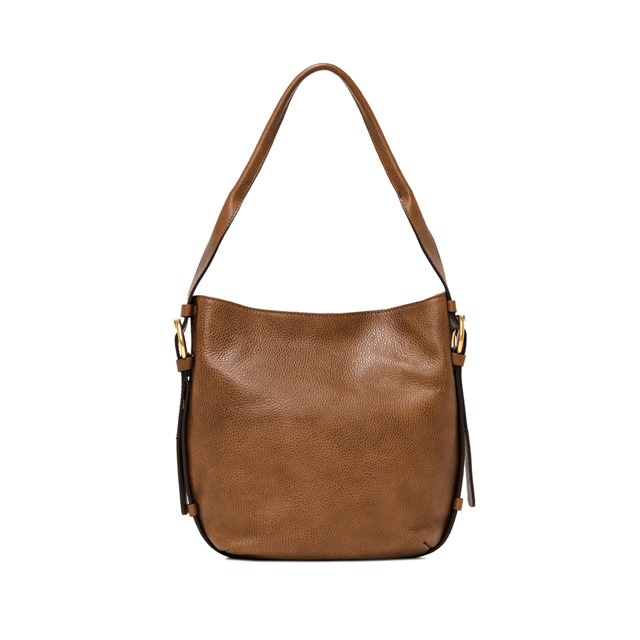 GIANNI CHIARINI HARLEY MEDIUM BROWN CROSSBODY BAG