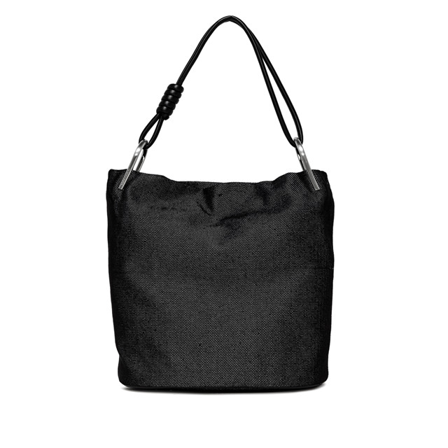 GIANNI CHIARINI BLACK LARGE SHOULDER BAG
