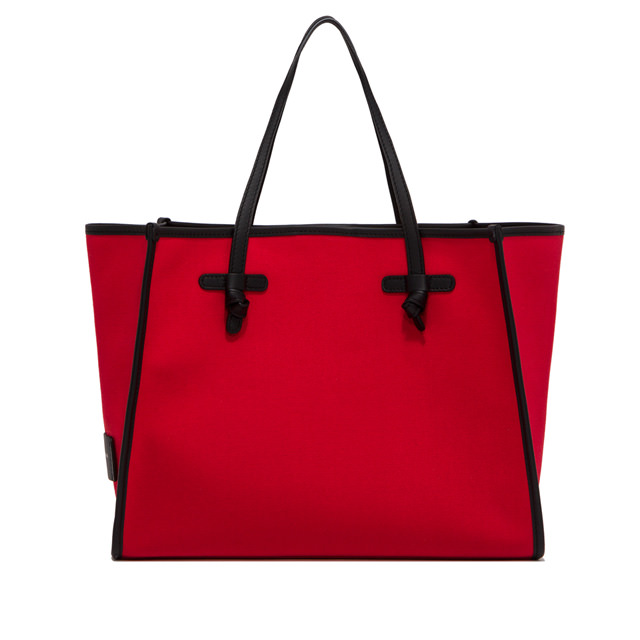 GIANNI CHIARINI: MARCELLA LARGE RED SHOULDER BAG