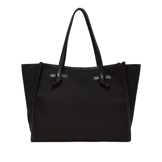 GIANNI CHIARINI: MARCELLA SHOPPING MEDIUM BLACK
