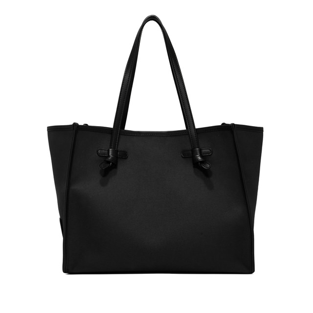 GIANNI CHIARINI: MEDIUM SIZE MARCELLA SHOPPING COLOR BLACK