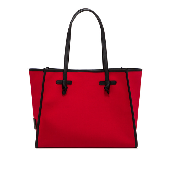 GIANNI CHIARINI: MARCELLA MEDIUM RED SHOULDER BAG
