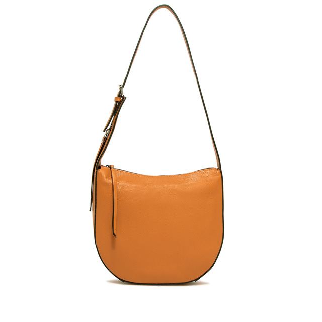 GIANNI CHIARINI PETRA MEDIUM ORANGE SHOULDER BAG